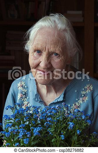 Frau ältere Ältere Frau