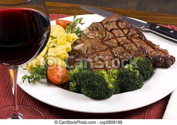 Porterhouse Steak 001 - csp3809199