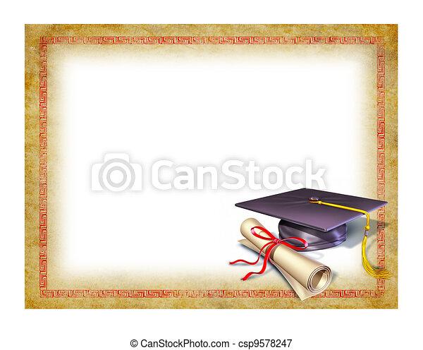 Abschluss ohne Abschlusszeugnis - csp9578247