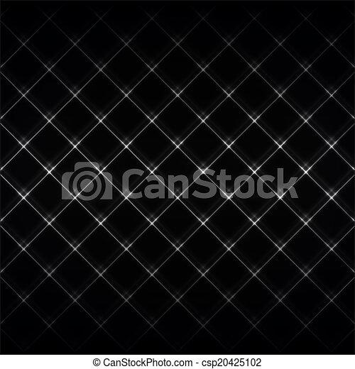 Abstract Neonlicht schwarz Textur Vektor Illustration. - csp20425102