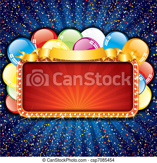 Alles Gute zum Geburtstag. - csp7085454