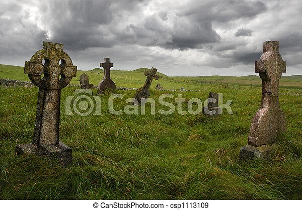 Altkelischer Friedhof - csp1113109