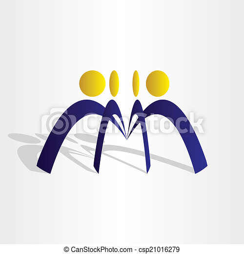 Geschäftsmannschaft arbeitet - csp21016279