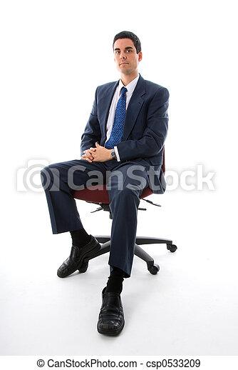 Auf den Stuhl - csp0533209