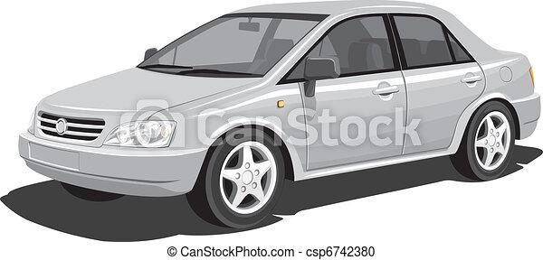 auto, modern - csp6742380