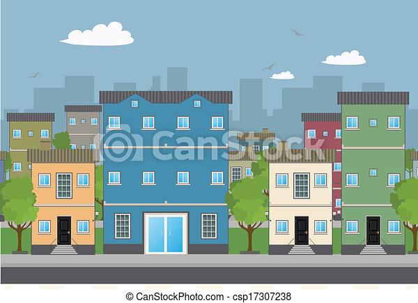 Bürogebäude - csp17307238