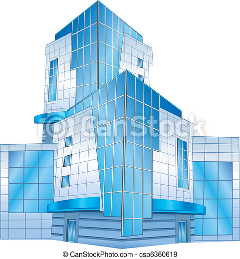Bürogebäude - csp6360619