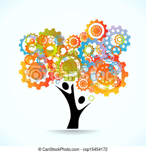 Baum abfahren - csp15454172