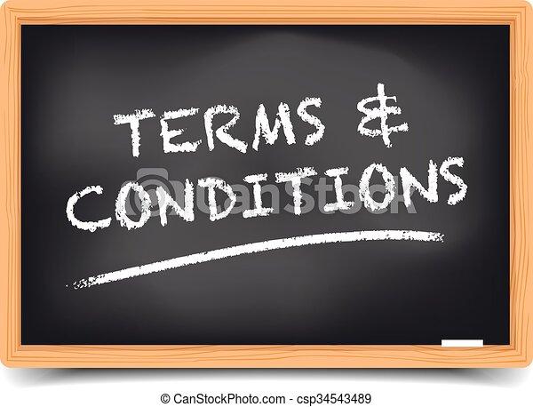 Blackboard Bedingungen. - csp34543489