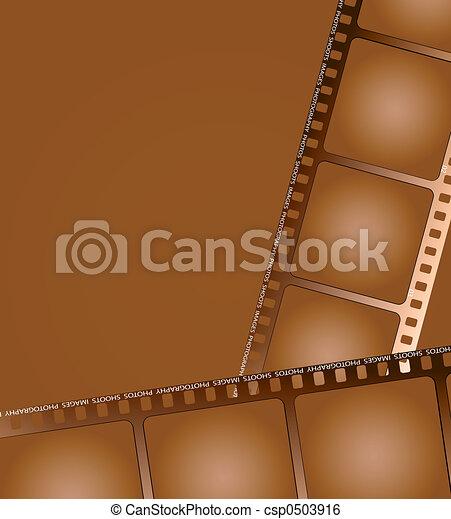 brauner, 2, grobdarstellung, film - csp0503916