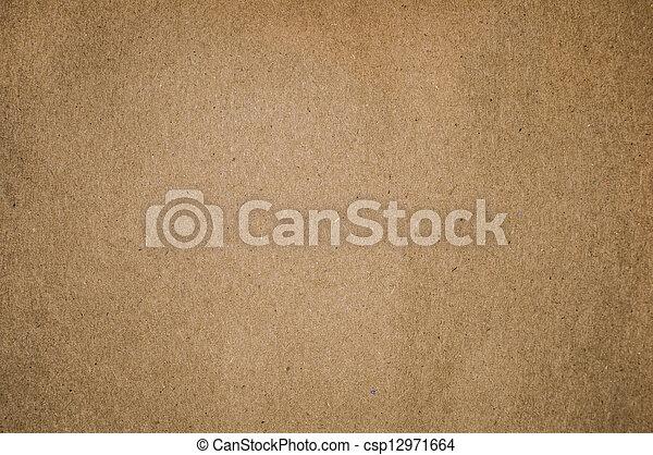 Brauner getexteter Papier Hintergrund - csp12971664