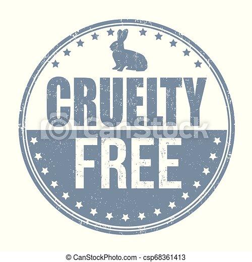 briefmarke, zeichen, oder, frei, grausamkeit - csp68361413