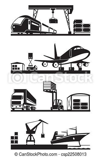Cargo Terminals in Perspektive. - csp22508013