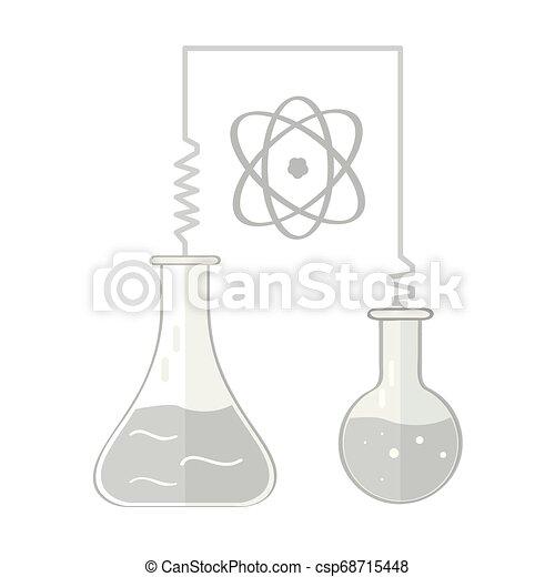 Isoliertes chemisches Experimentbild - csp68715448