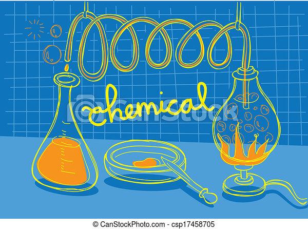 Chemisches Experiment - csp17458705