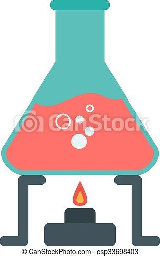 chemische , versuch - csp33698403