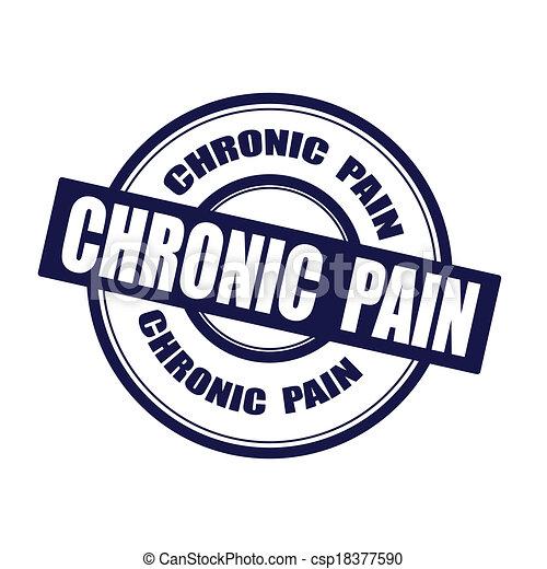 Chronische Schmerzen - csp18377590