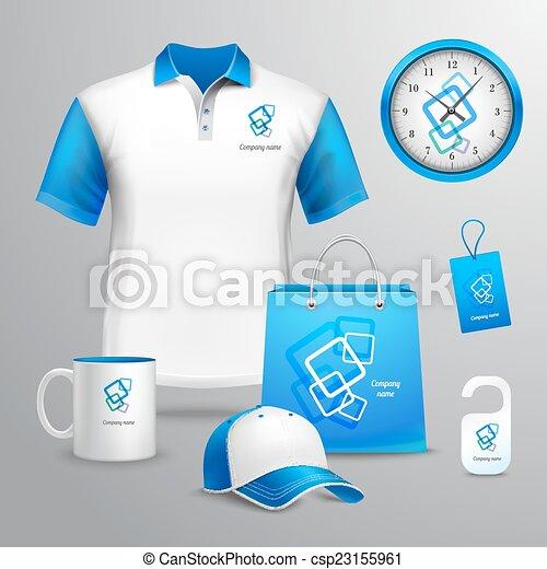 Corporate Identity Template. - csp23155961
