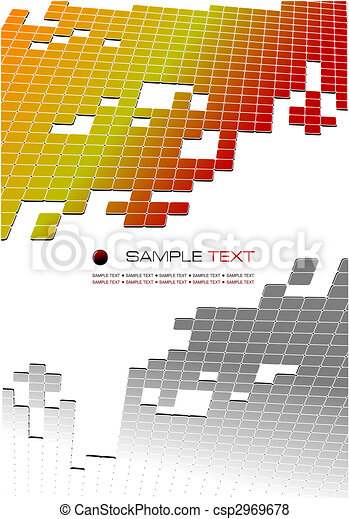 Das Firmenvektor-Geschäft hat Hintergrundinformationen. Prospekt. Vektor Illustration - csp2969678