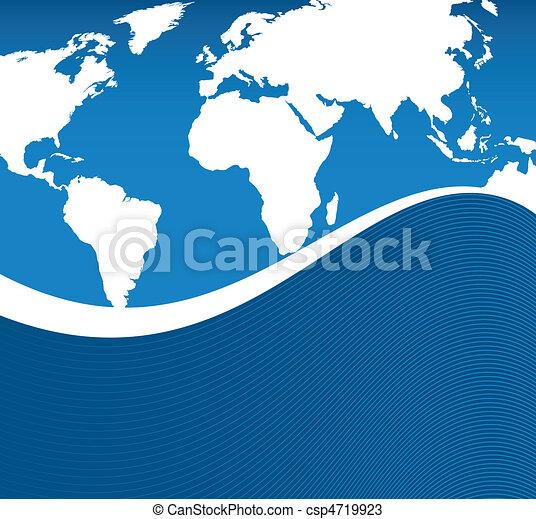 Die Welt schwimmt - csp4719923