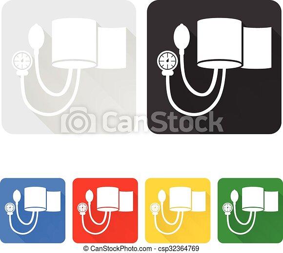 Blutdruck-Manschetten - csp32364769