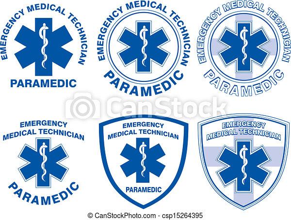 Sanitäter, medizinisches Notfallprogramm - csp15264395