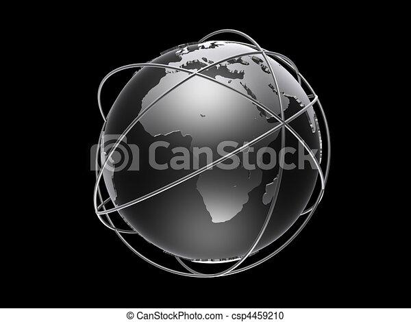 3D Globus - csp4459210