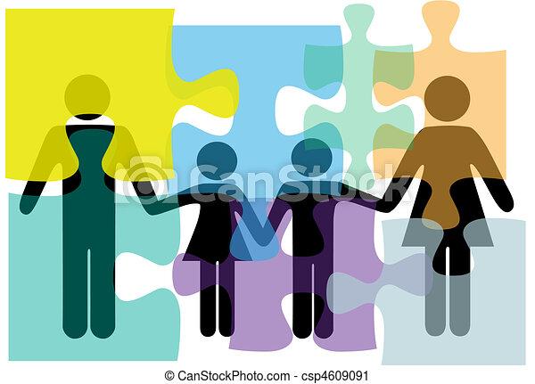 Problemlösung für Familienangehörige im Gesundheitsbereich - csp4609091