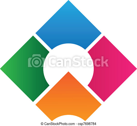 Firmenlogos Design-Schrift - csp7698784