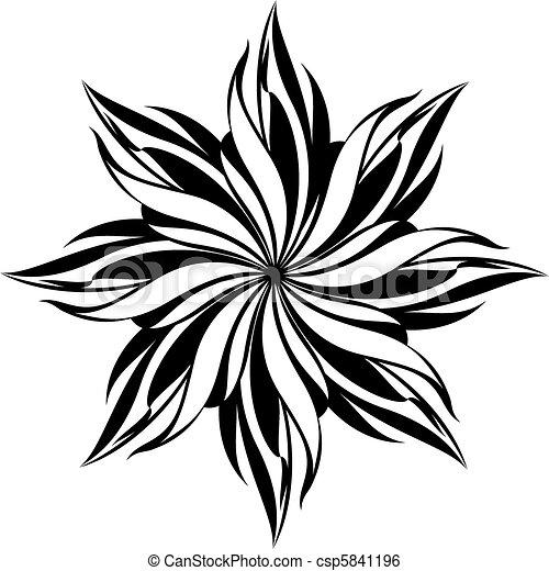 Floral nahtlos - csp5841196