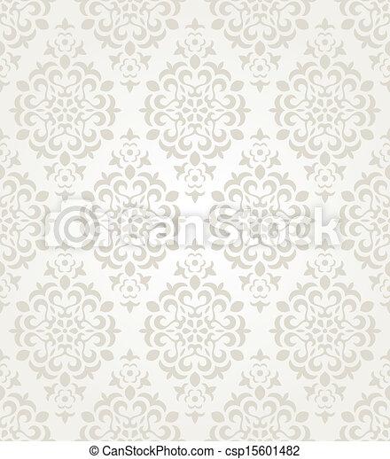 Floraler Wandpapier - csp15601482
