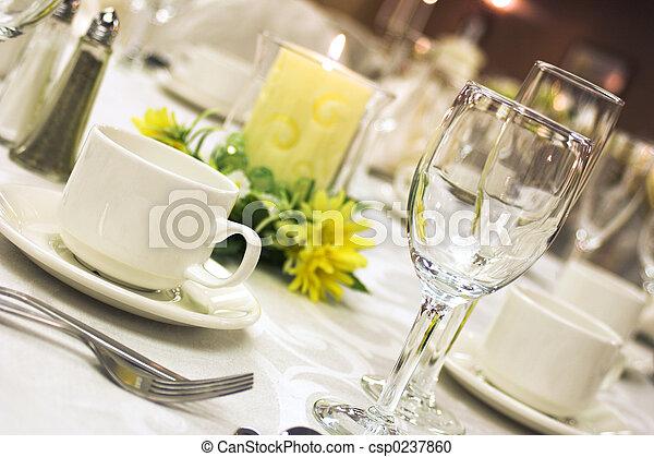 Formal Abendessen - csp0237860
