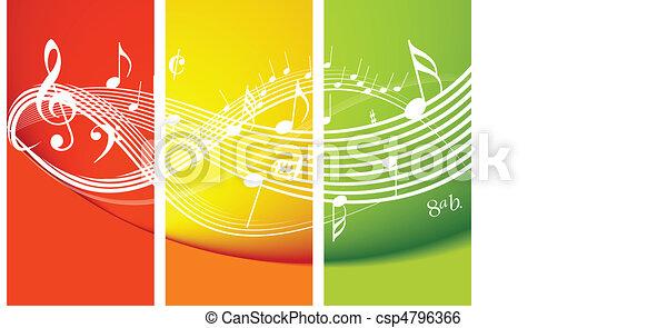 Frische Musik - csp4796366