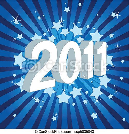Frohes neues Jahr 2011! - csp5035043