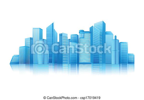 Modernes Gebäude - csp17019419