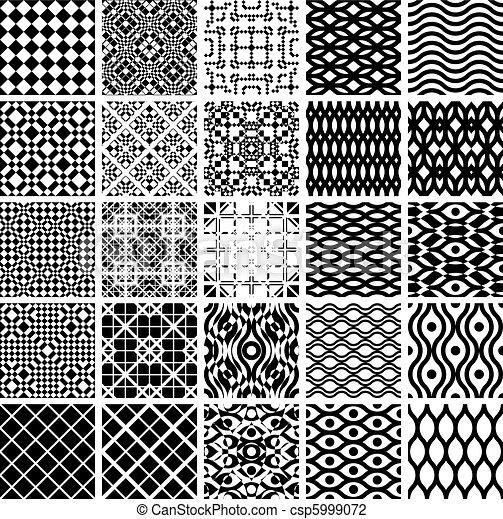 Geometrische Matrosenmuster. - csp5999072