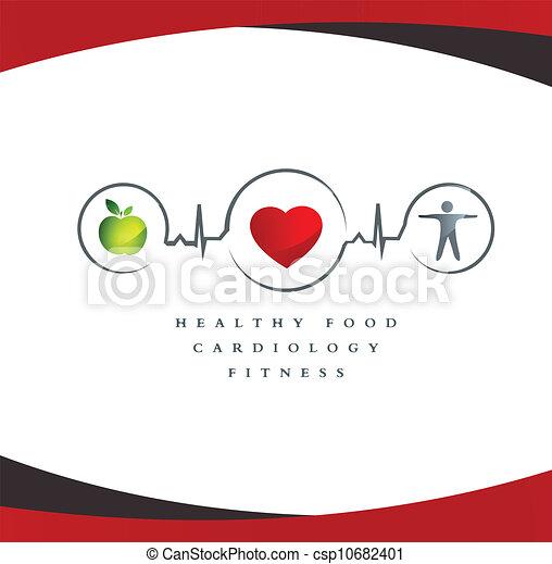 Gesundes Herzsymbol - csp10682401
