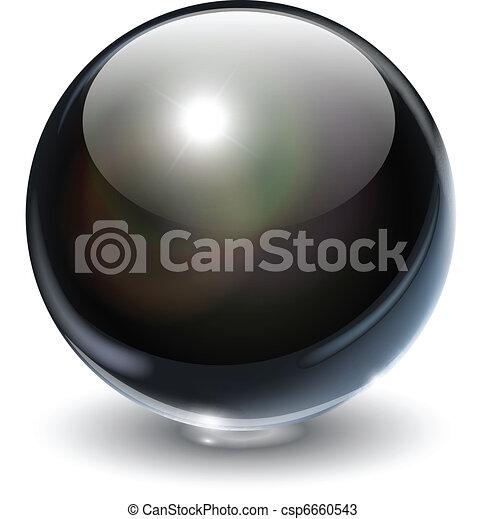 Glaskugel - csp6660543