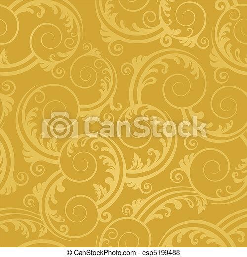 Leichtgoldene Tapete - csp5199488