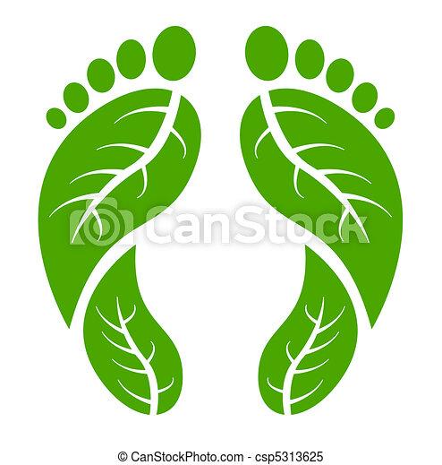 Grüne Füße - csp5313625