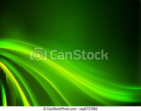 Grüner Hintergrund abbrechen. EPS 8 - csp6737882