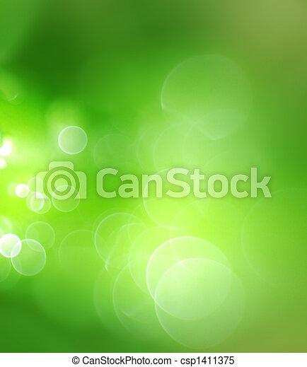 Grüner Hintergrund abbrechen - csp1411375