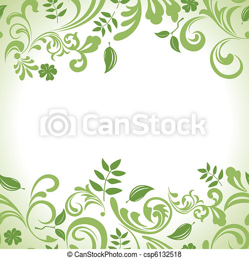 Grünes Banner aufgestellt - csp6132518