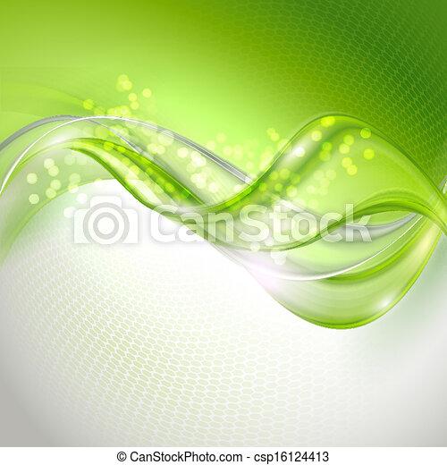 Grünes Winken abbrechen - csp16124413
