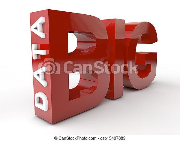 Große Daten - csp15407883