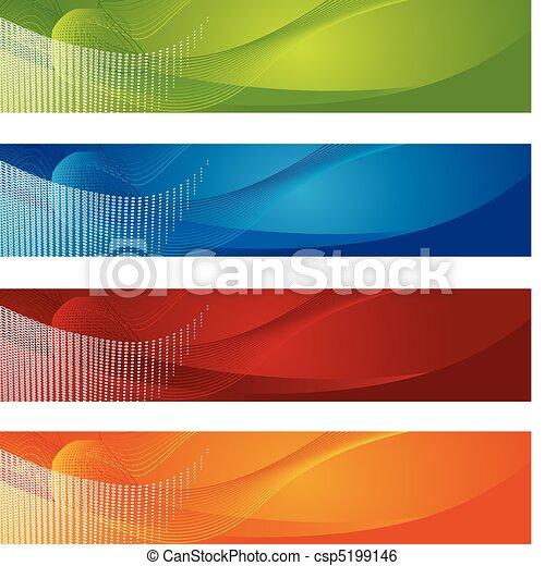 Halbtone und Absolventen-Banner - csp5199146