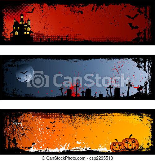 halloween, hintergruende - csp2235510