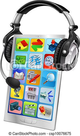 Handy-Chat-Unterstützungskonzept - csp10076675