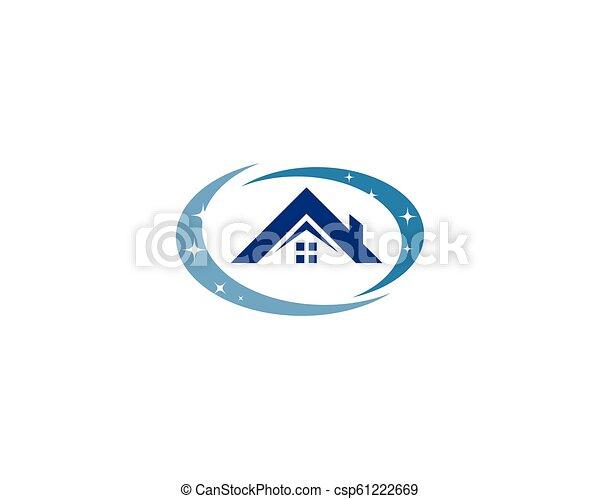 Hausreiniger-Logo. - csp61222669