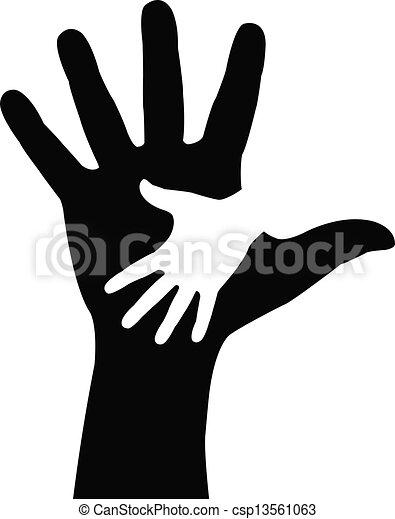 Helfende Hände - csp13561063